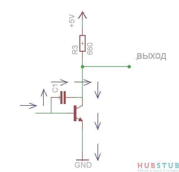 Схемы включения транзистора.