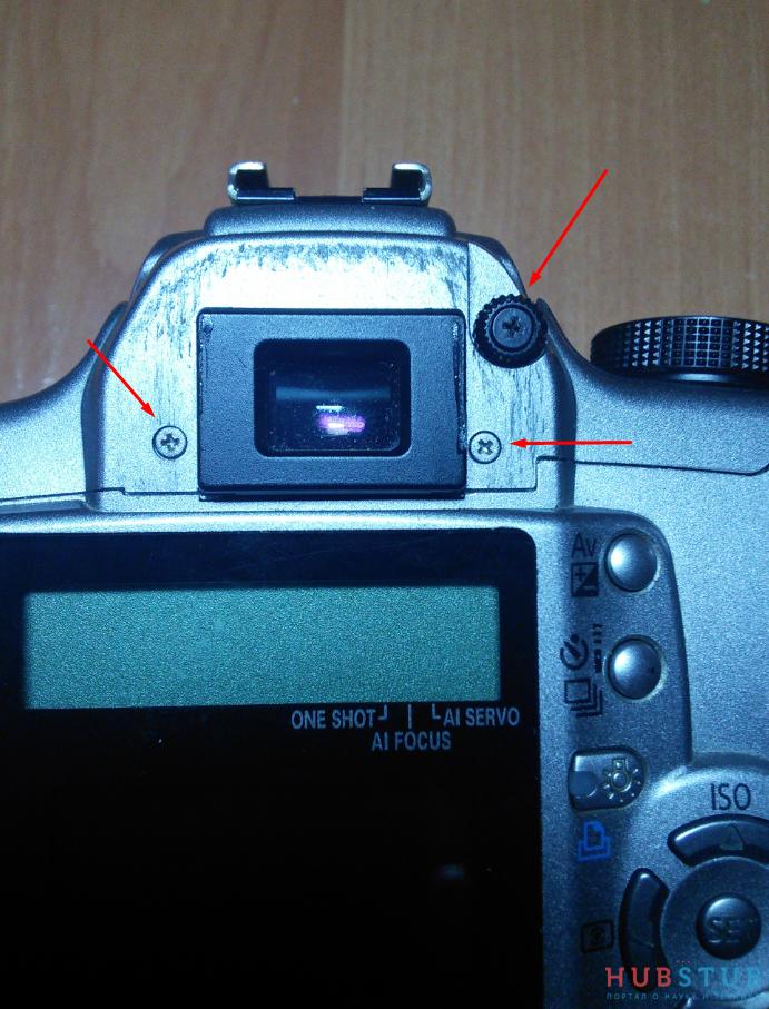 Ремонт фотоаппарата canon rebel xt(EOS 350D).