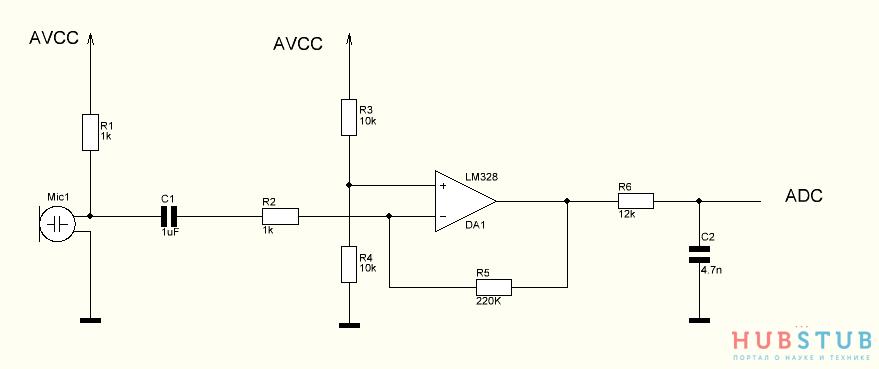 Запись звука с помощью микроконтроллера на SD карту.