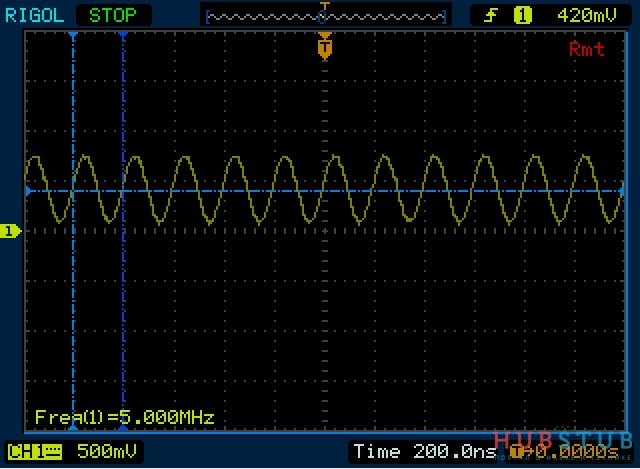 Обзор DDS генератора сигналов UDB1005S.