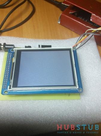 Инициализация TFT дисплея на примере ILI9341 для AVR.