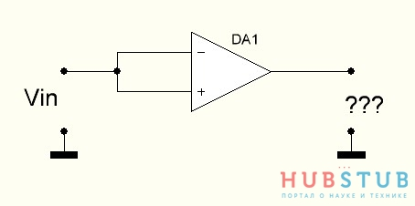 Параметр CMRR операционного усилителя или коэффициент ослабления синфазного сигнала.