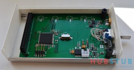 Анализатор спектра 240 – 960МHz.