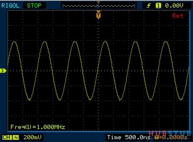 Синтезатор частот до 200MHz.