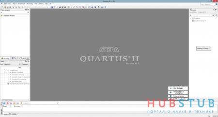 Установка Quartus II.