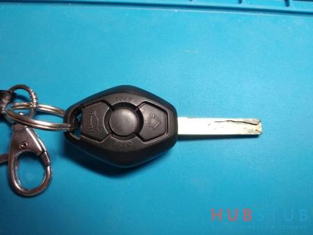 Ремонт ключа BMW ромбик.