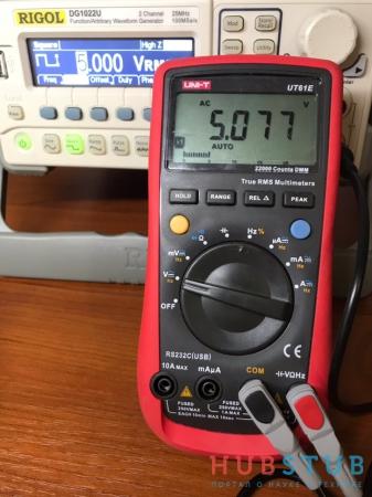 Мультиметр UNI-T UT61E.