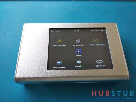 Развитие проекта анализатора спектра 240 – 960 MHz.(80$)